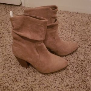 Heeled boots size 6